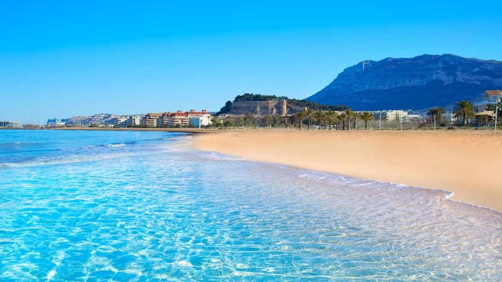 Playa Marinas Denia