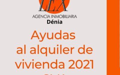 Ayudas al alquiler de vivienda 2021 GVA