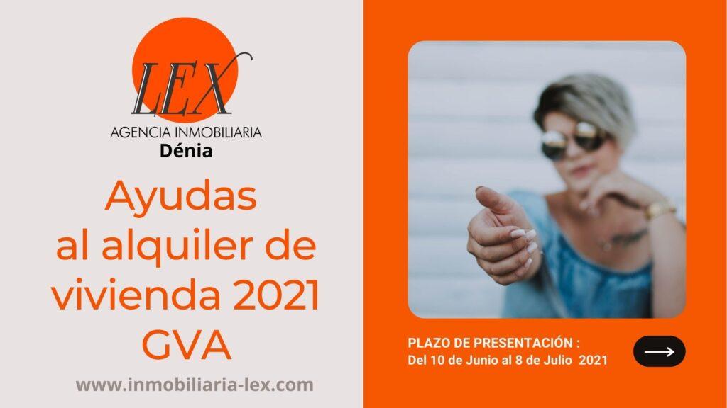 Ayudas al alquiler de vivienda 2021 en la Comunidad Valenciana